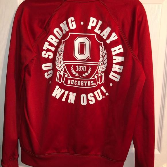 PINK Victoria's Secret Jackets & Blazers - Ohio state Victoria secret zip up jacket